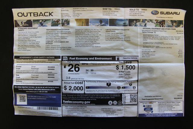 2014 Subaru Outback 2.5i Limited Richmond, Virginia 33