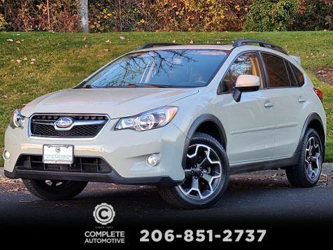 2014 Subaru XV Crosstrek 2.0i Limited All Wheel Drive Local 1 Owner Premium Moonroof Leather Rear Camera in Seattle