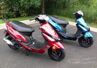 2014 Taotao Speedy Sport Scooter / Moped Blaine, Minnesota 1