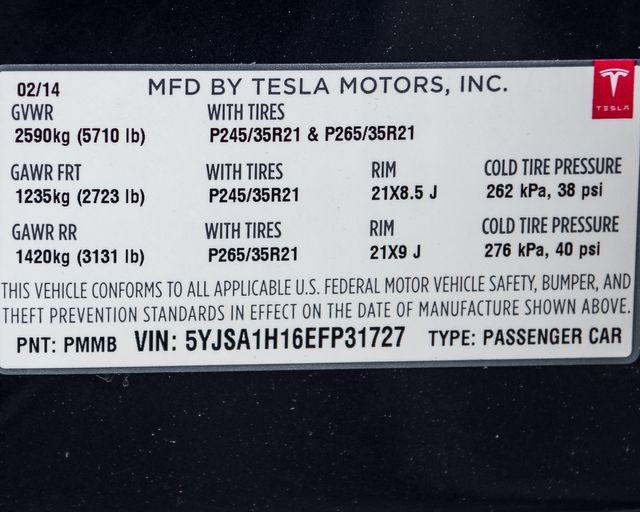 2014 Tesla Model S P85+ Burbank, CA 31