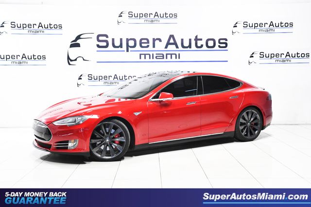 2014 Tesla Model S P85 Performance Plus with Air Suspension