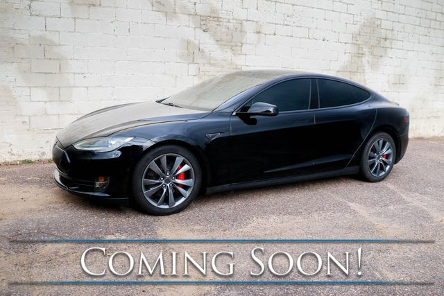 2014 Tesla Model S P85D AWD 100% Electric Luxury Car w/Auto Pilot, Panoramic Roof & Premium Audio in Eau Claire, Wisconsin 54703
