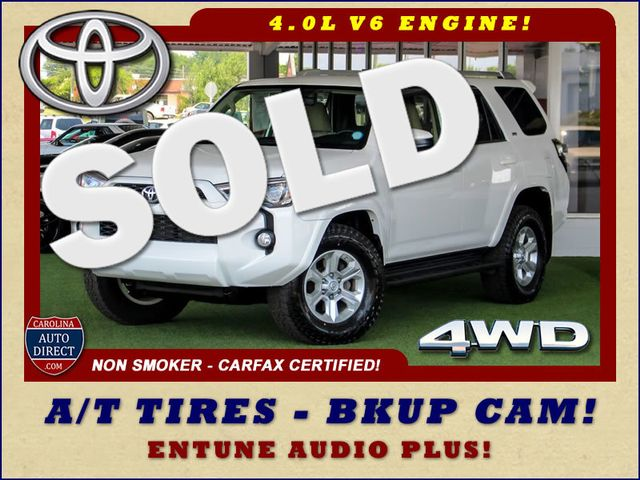 2014 Toyota 4Runner SR5 4WD - A/T TIRES - BKUP CAM - ENTUNE AUDIO PLUS Mooresville , NC 0