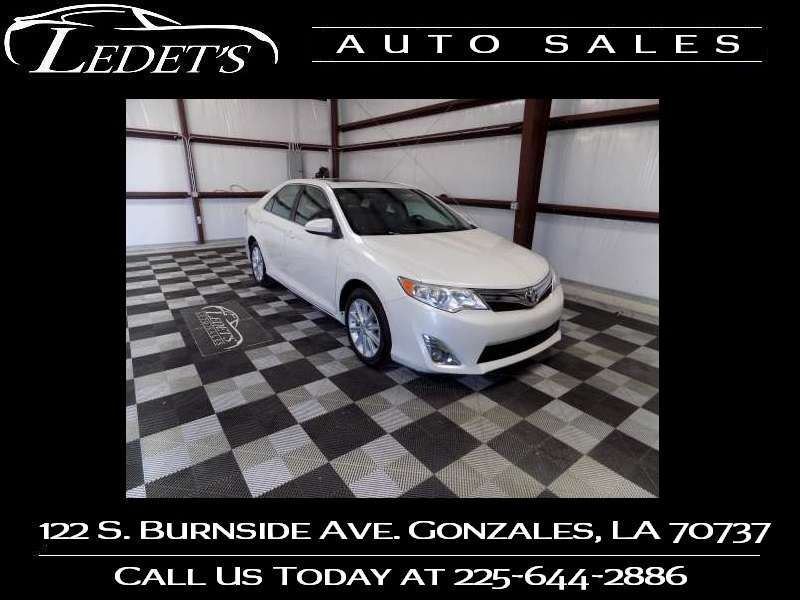 2014 Toyota Camry XLE - Ledet's Auto Sales Gonzales_state_zip in Gonzales Louisiana