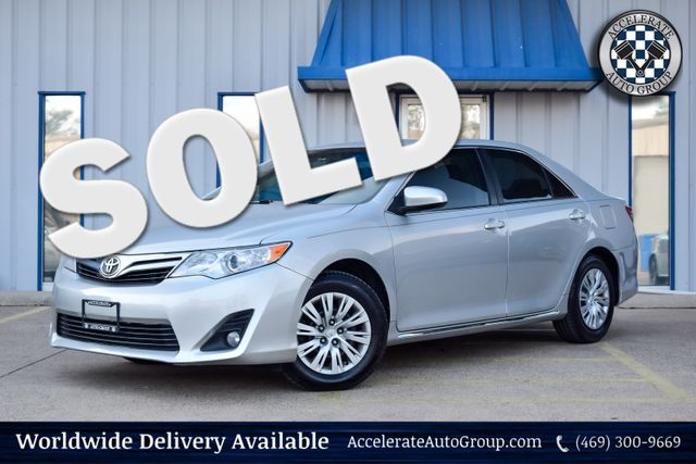 2014 Toyota Camry LE CLEAN CARFAX AUTO TRANS BACKUP CAMERA NICE! in Rowlett