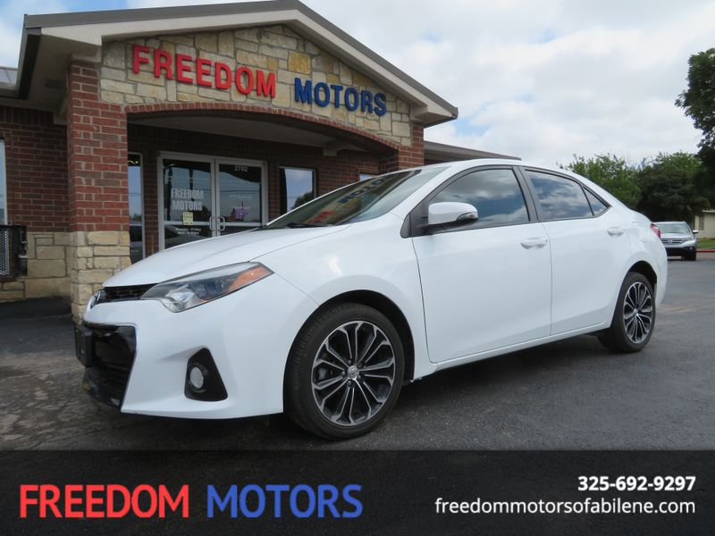 2014 Toyota Corolla S Plus | Abilene, Texas | Freedom Motors  in Abilene Texas