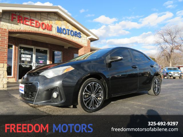 2014 Toyota Corolla S Plus | Abilene, Texas | Freedom Motors  in Abilene,Tx Texas