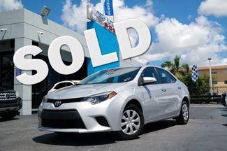 2014 Toyota Corolla L Hialeah, Florida