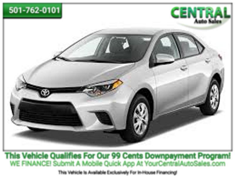 2014 Toyota Corolla L | Hot Springs, AR | Central Auto Sales in Hot Springs AR