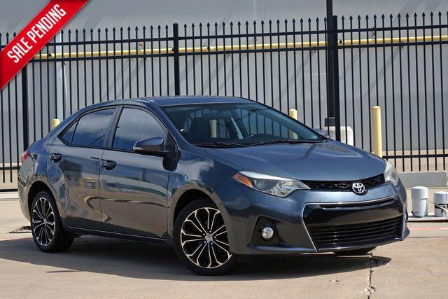2014 Toyota Corolla S*BU Cam*Only 59k mi* | Plano, TX | Carrick's Autos in Plano TX