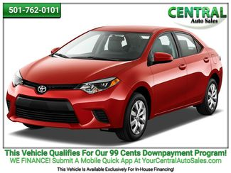 2014 Toyota COROLLA/SD    Hot Springs, AR   Central Auto Sales in Hot Springs AR
