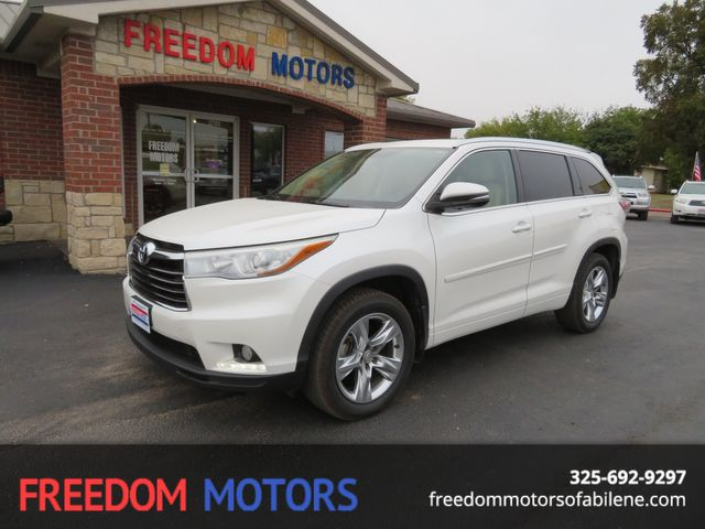 2014 Toyota Highlander in Abilene Texas