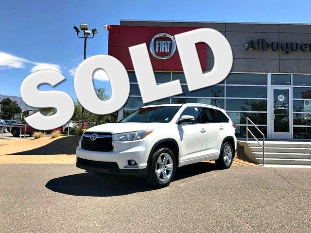 2014 Toyota Highlander Limited in Albuquerque, New Mexico 87109