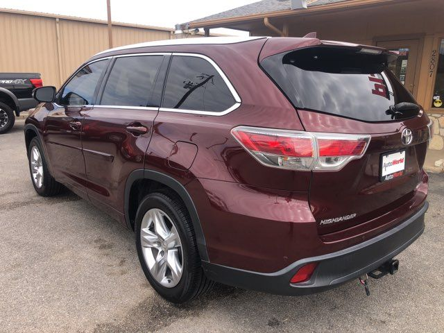 2014 Toyota Highlander Limited in Marble Falls, TX 78654