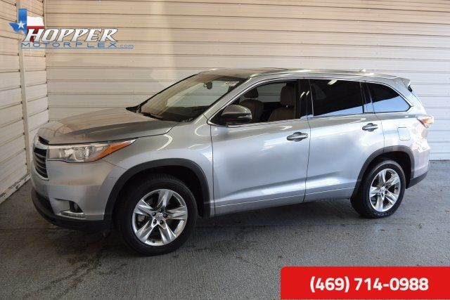 2014 Toyota Highlander Limited Platinum V6