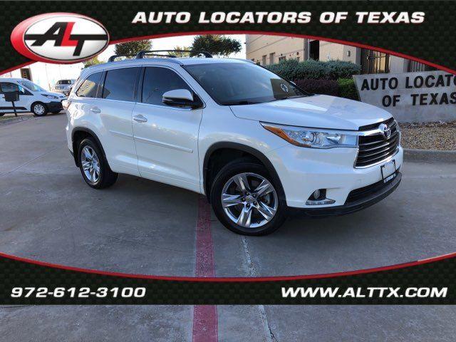2014 Toyota Highlander Limited in Plano, TX 75093