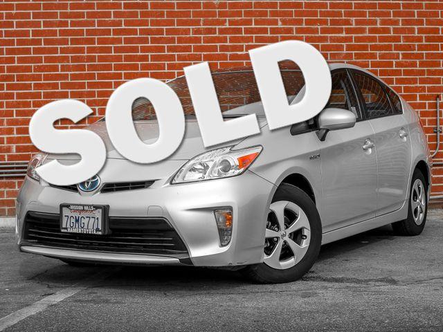 2014 Toyota Prius Three Burbank, CA 0