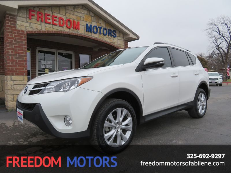 2014 Toyota RAV4 Limited | Abilene, Texas | Freedom Motors  in Abilene Texas