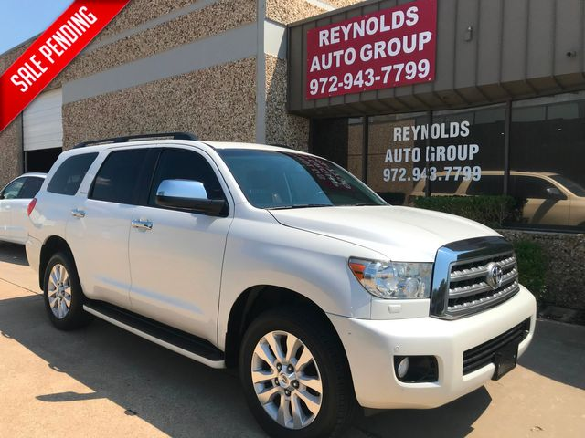 2014 Toyota Sequoia Platinum w/Sunroof/3rd Row/Navigation in Plano, Texas 75074