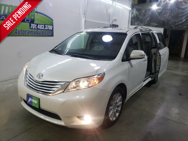 2014 Toyota Sienna AWD All Wheel Drive Limited in Dickinson, ND 58601