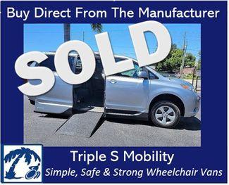 2014 Toyota Sienna Le Wheelchair Van Handicap Ramp Van in Pinellas Park, Florida 33781