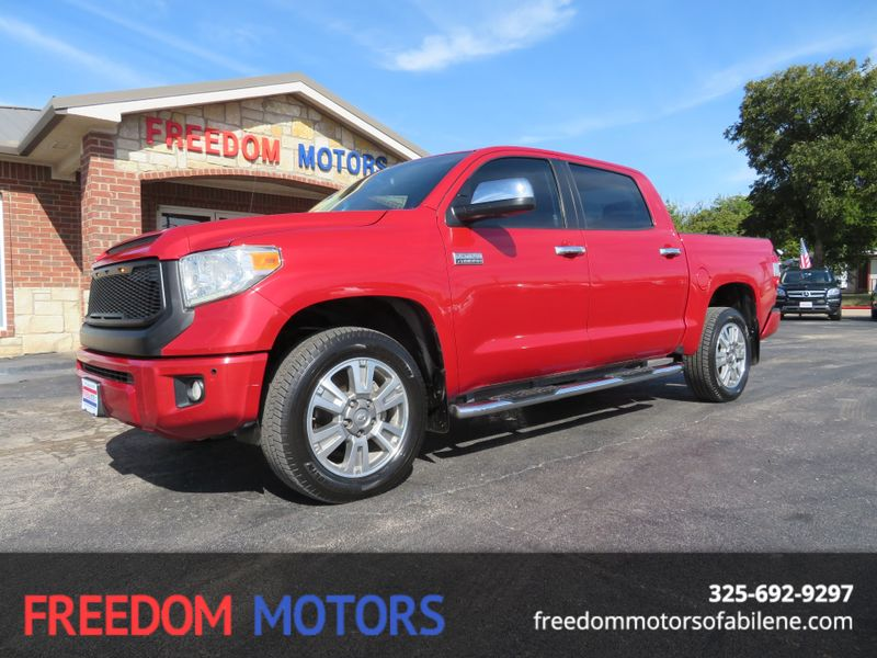 2014 Toyota Tundra Platinum 4x4 | Abilene, Texas | Freedom Motors  in Abilene Texas