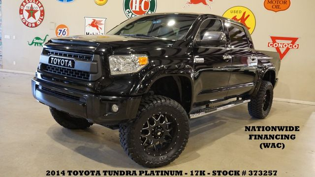 2014 Toyota Tundra Platinum 4X4 LIFTED,ROOF,NAV,HTD/COOL LTH,17K