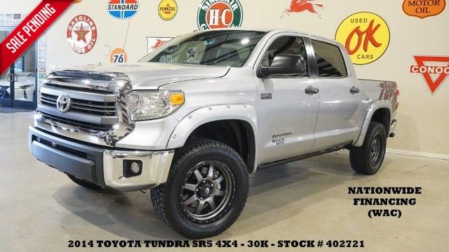 2014 Toyota Tundra CrewMax Black Ops 4X4 LIFTED,NAV,BACK-UP,LTH,FUEL WHLS,...