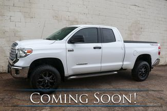 """2014 Toyota Tundra SR5 Double Cab 4x4 with i-Force V8, TRD Off-Road Pkg, Backup Cam and 18"""" Metal Moto Wheels in Eau Claire, Wisconsin 54703"""
