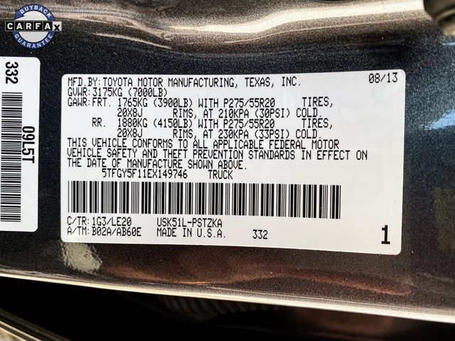 2014 Toyota Tundra Platinum Madison, NC 45