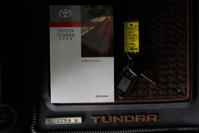 2014 Toyota Tundra 1794 CrewMax 4x4 - LIFTED - EXTRA$ - BLIND SPOT! Mooresville , NC 19