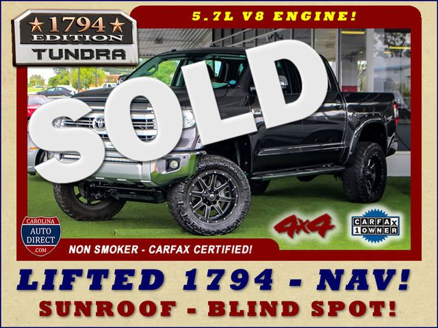 2014 Toyota Tundra 1794 CrewMax 4x4 - LIFTED - EXTRA$ - BLIND SPOT! Mooresville , NC 0