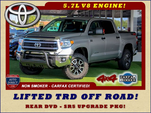 2014 Toyota Tundra SR5 Upgrade CrewMax 4x4 TRD OFF ROAD - LIFTED! Mooresville , NC 0