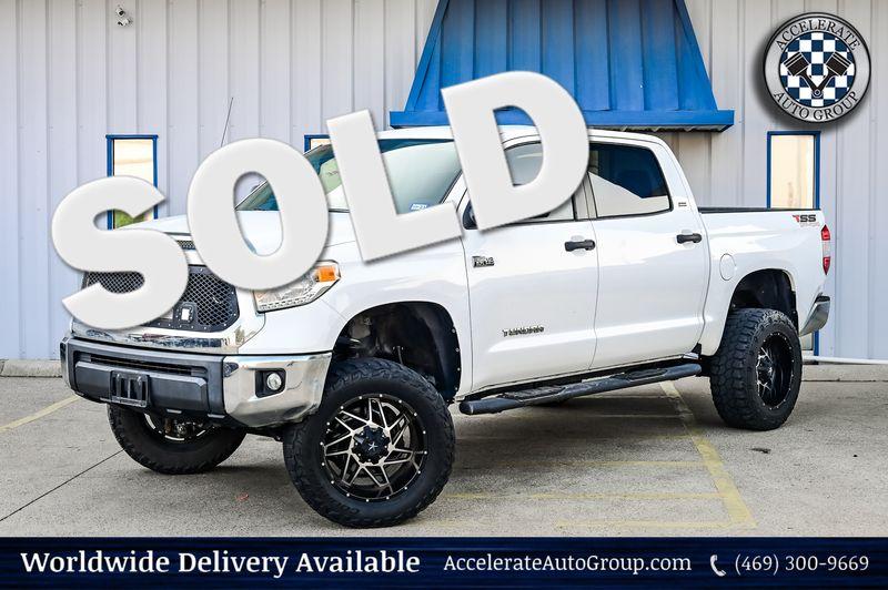 2014 Toyota Tundra 5.7L V8 SR5 4X4 LIFTED CLEAN CARFAX BACKUP CAM in Rowlett Texas