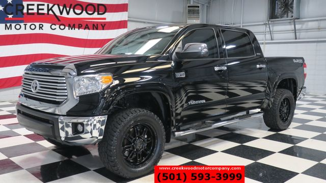 2014 Toyota Tundra Limited 4x4 Crew Max Lifted 20s Nav Sunroof CLEAN