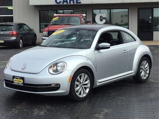2014 Volkswagen Beetle Coupe 2.0L TDI w/Sun/Sound/Nav | Champaign, Illinois | The Auto Mall of Champaign in Champaign Illinois