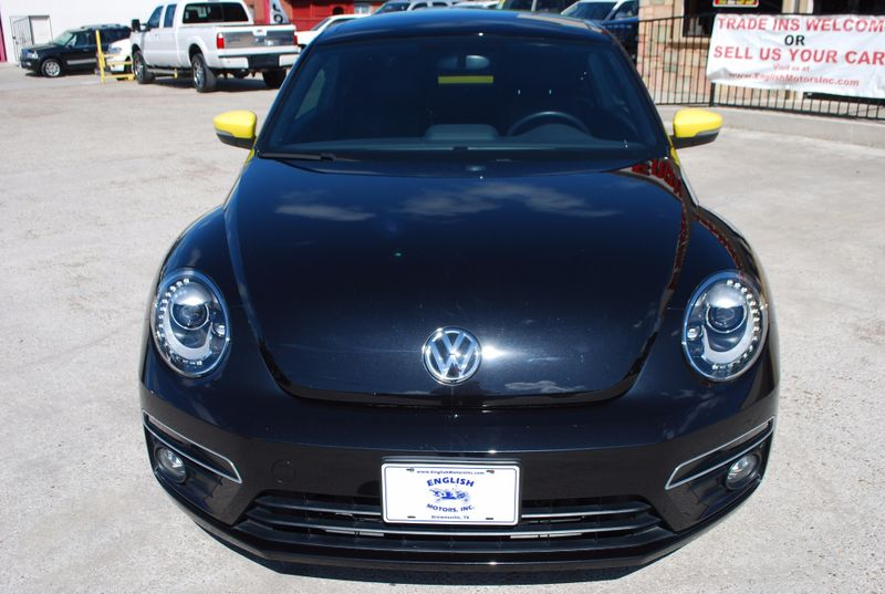 2014 Volkswagen Beetle Coupe 20T Turbo R-Line wSunSoundNav  Brownsville TX  English Motors  in Brownsville, TX