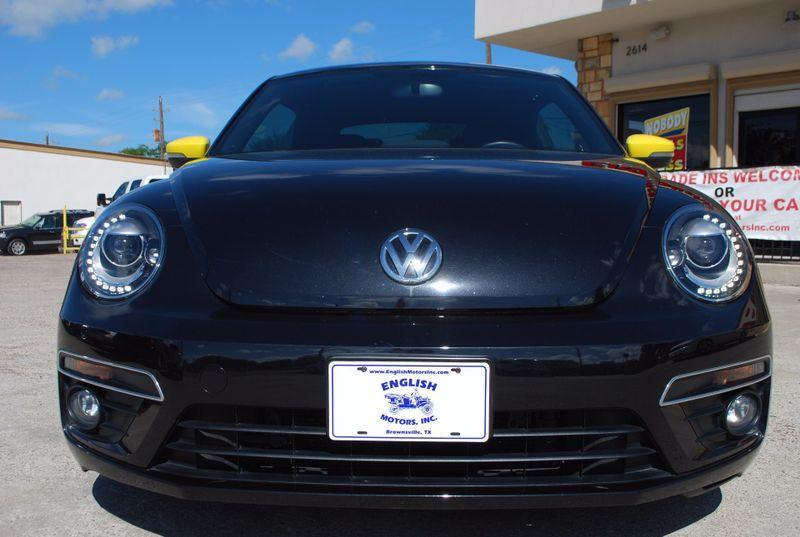 2014 Volkswagen Beetle Coupe 20T Turbo R-Line wSunSoundNav  Brownsville TX  English Motors  in Brownsville, TX