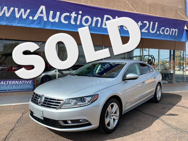 2014 Volkswagen CC Sport 5 YEAR/60,000 MILE FACTORY POWERTRAIN WARRANTY Mesa, Arizona 0