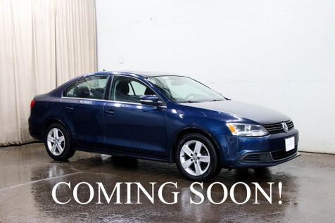 2014 Volkswagen Jetta TDI Clean Diesel w/Heated Seats, Power Moonroof and Fender Audio with Bluetooth Streaming in Eau Claire