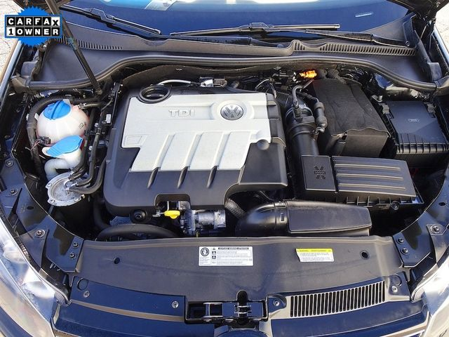 2014 Volkswagen Jetta TDI w/Sunroof Madison, NC 43