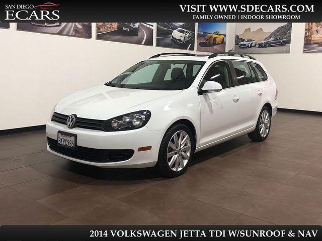 2014 Volkswagen Jetta TDI w/Sunroof & Nav