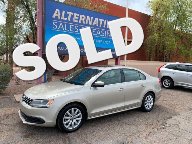 2014 Volkswagen Jetta SE w/Sunroof 3 MONTH/3,000 MILE NATIONAL POWERTRAIN WARRANTY Mesa, Arizona