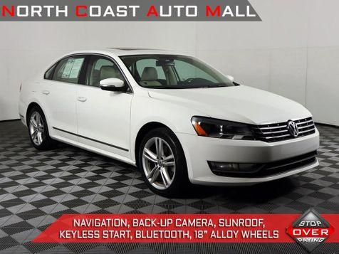 2014 Volkswagen Passat TDI SEL Premium in Cleveland, Ohio
