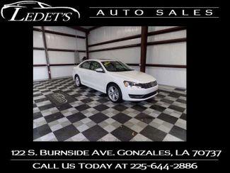 2014 Volkswagen Passat TDI SE w/Sunroof - Ledet's Auto Sales Gonzales_state_zip in Gonzales