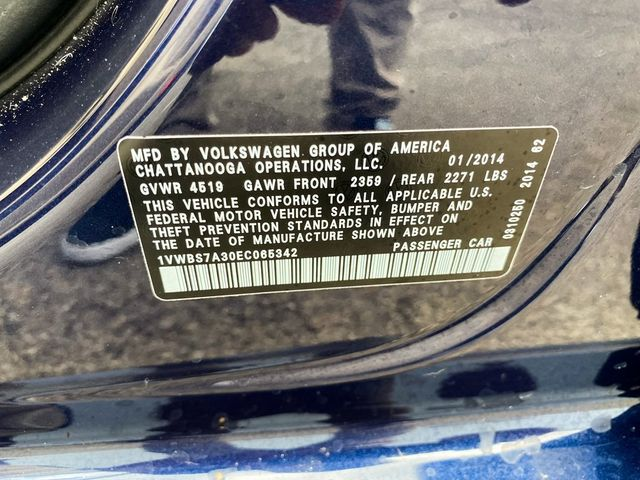 2014 Volkswagen Passat SE Madison, NC 36