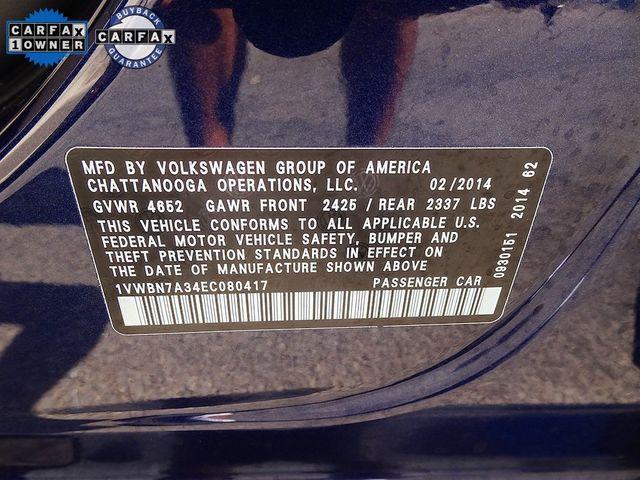 2014 Volkswagen Passat TDI SE w/Sunroof Madison, NC 44