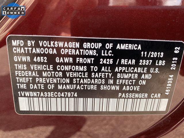 2014 Volkswagen Passat TDI SE w/Sunroof & Nav Madison, NC 44