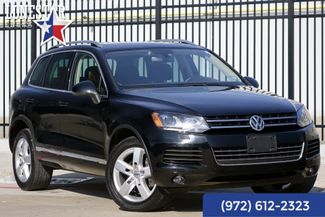 2014 Volkswagen Touareg Sport TDI Clean Carfax Leather Navigation Diesel in Plano Texas, 75093