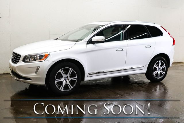 2014 Volvo XC60 T6 AWD Luxury SUV with Nav, Heated Seats, Panoramic Roof, Keyless Start & BT Audio in Eau Claire, Wisconsin 54703